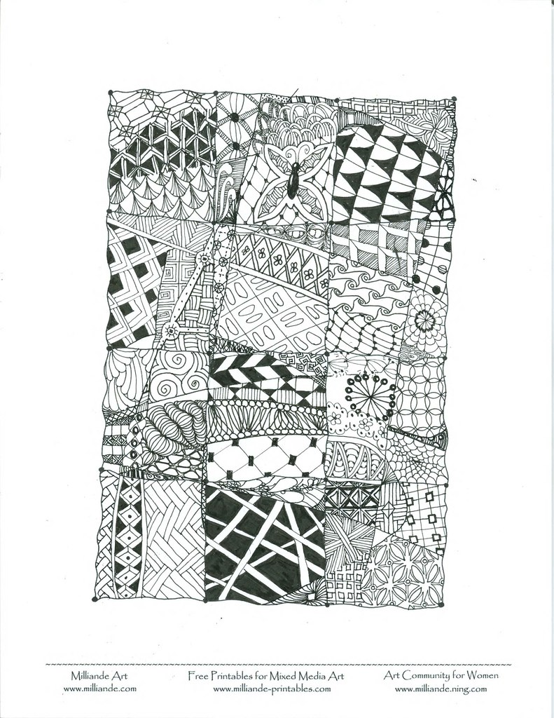 the world u0027s best photos of template and zentangle flickr hive mind