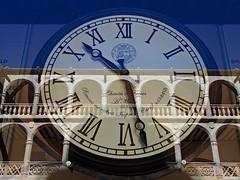 La hora de la ciencia (Jesus_l) Tags: espaa europa valladolid patio reloj palaciodesantacruz jesusl