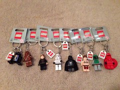 Keyrings (alanddickinson) Tags: city starwars keychain keyring lego toystory collection sets miners keyrings chima uploaded:by=flickrmobile flickriosapp:filter=nofilter