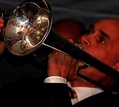 The Other Night Blues (heinvanwersch) Tags: portrait music closeup jazz instrument trombone hein heinvanwersch doubleniceshot
