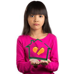 Sadness little asian girl holding virtual house with broken heart (Patrick Foto ;)) Tags: family people woman white house love home broken girl face female youth asian thailand sadness one parents 3d kid holding hands couple child sad heart emotion symbol little crying daughter young marriage problem relationship virtual thai divorce depression teenager despair depressed concept split fighting stress unhappy isolated stressful sadnesslittleasiangirlholdingvirtualhousewithbrokenhear sadnesslittleasiangirlholdingvirtualhousewithbrokenheart