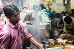 Le cuistot (Jordy B) Tags: india man color portait delhi couleur newdelhi homme inde