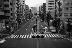 OM131110_26 (minhana87) Tags: street bw olympus signal zuiko omd morishita 17mm shinohashi em5