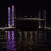 https://www.twin-loc.fr Pont Chaban Delmas Bordeaux Gironde Garonne Nuit Night Photo Image Photography Picture