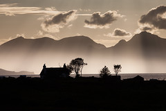 8. Adult Other RunnerUp - The mist rising over Eigg and Rum (from Arisaig). Richard Linney