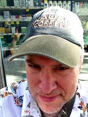 Day 620 - Day 254: Kauai Coffee (knoopie) Tags: selfportrait me doug september kauaicoffee year2 picturemail iphone day254 knoop 365days 2013 knoopie 365more 365daysyear2 day620