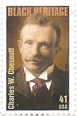 USA stamp - Charles Chesnutt (sftrajan) Tags: usa stamp timbre postagestamp philately sello filatelia briefmarke  francobollo sellopostal  timbrepostal selopostal   blackheritageseries  charleschesnutt