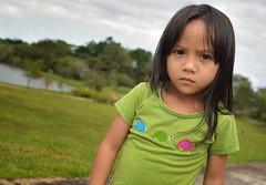 girl (abtabt) Tags: kid library sarawak malaysia kuching malay smallgirl d7001835g