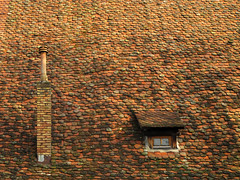 Roof (Batikart) Tags: city roof winter light shadow red chimney urban brown house detail building green art window colors architecture canon germany square geotagged deutschland europa europe day outdoor fenster patterns bricks shingle january haus lookout medieval textures smokestack tiles simplicity stadt round architektur historical aussicht ursula dach gebude schornstein dachziegel variation dormer sander uneven g11 2014 historisch badenwrttemberg mittelalter dachfenster schindel maulbronn largegroupofobjects backsteine 200faves unlight viereckig batikart canonpowershotg11 bieberschwnze
