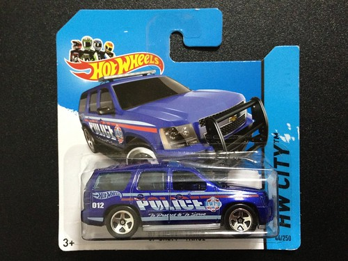 Police Chevy Suburban Toys Hot wheels hw city chevy tahoe
