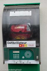 Antibes: Public Defibrillator (wanderingYew2) Tags: france antibes defibrillator frenchriviera fujixpro1