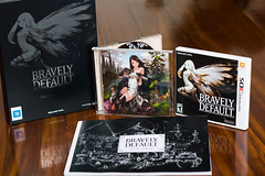 Bravely Default Collector's Edition (FaruSantos) Tags: nintendo games squareenix 3ds nintendo3ds bravelydefault bravelydefaultcollectorsedition