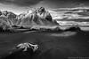 Vestrahorn - Stokknes (Kristinn R.) Tags: sea sky mountains grass clouds iceland nikon rust vestrahorn d3x nikonphotography stokknes kristinnr
