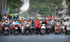 Run Forrest, Run - Saigon (MXW) Tags: city asian asia south east vietnam viet chi asie ho minh saigon nam sud est