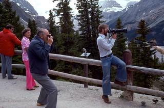 Tour Stop (2) Alberta Canada - July 1977