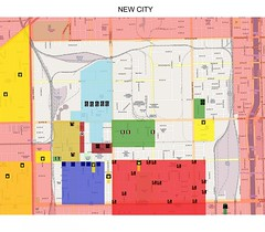 Updated New City Gang Map (slide100100) Tags: chicago map newcity