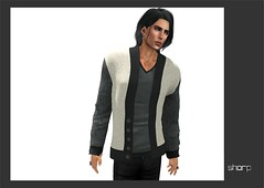 "sharp by [ZD] - Mesh ""Bentley"" Cardigan (shine & sharp by [ZD]) Tags: life urban man male men wool fashion by demo cool shine dress place mesh market sharp sl dresses second mann marketplace mp mode cardigan bentley mnner kleidung strickjacke menswear wolle kleid mnnlich zd inworld zddesign"