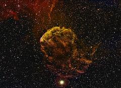 IC443 The Jellyfish in full size (Trois_Merlettes) Tags: jellyfish supernova ic443 propus supernovaremnant astrometrydotnet:status=solved hyperstar propusstar astrometrydotnet:id=nova251467