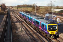 185144 Church Fenton 21/03/2014 (Flash_3939) Tags: uk train march first rail railway transpennine 2014 dmu churchfenton desiro transpennineexpress class185 firsttranspennineexpress 185144