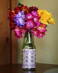 Florero DIY (Maipsilon) Tags: primavera diy spring vase reuse reutilizar florero decotape