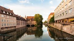GERMANY - Bavaria - Nuremberg - Pegnitz river (Asier Villafranca (www.asiervillafranca.com)) Tags: travel germany bavaria europe nuremberg german alemania nurnberg baviera