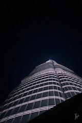 the Top -  (Z.B!NS!ddeQ) Tags: blue sky tower night canon photography photo dubai top united uae emirates photograph arab 7d byme unitedarabemirates                 canon7d burjkhalifa