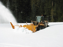 Snow Blower Closeup