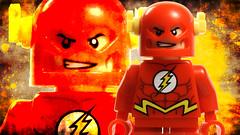 Flash (BigPencilCustoms) Tags: wallpaper america lego flash spiderman cyclops xmen captain superhero carnage custom