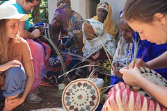 Basket Weaving - Guinea 2013