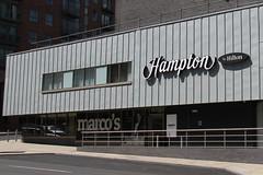 HAMPTON (BY HILTON) HOTEL, SHEFFIELD. (Andrew Mansfield - Sheffield UK) Tags: hotel sheffield yorkshire hilton hampton marcos italianrestaurant southyorkshire marcopierrewhite westbar
