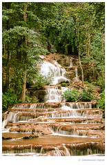 waterfall (Den Boma Files) Tags: park wood travel blue white mountain lake plant motion tree green fall nature wet water pool beautiful beauty forest river landscape thailand waterfall leaf moss rocks asia stream natural outdoor scenic croatia nobody fresh clear waterfalls ferns waterscape
