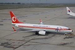 Retro 737 (joolsgriff) Tags: mas airport retro kualalumpur boeing mh klia 737 737800 malaysiaairlines malaysianairlinesystem 7378h6 9mmxa