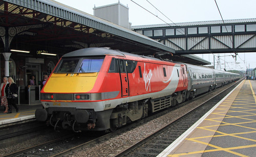 91108 Virgin east coast Grantham 20-06-2015