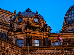 Restoration Architecture (stephencurtin) Tags: architecture night buildings dresden twilight couple highlights romantic reconstruction