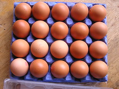 Dunnes 20 Large Farm Fresh hen eggs 03082015 €3.50 - Tray Open Eggs - 11-03-2015 (Lord Inquisitor) Tags: brown eggs hen dunnes eggcarton eggtray heneggs