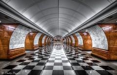 Park_Pobedy (Dmitry_Pimenov) Tags: urban architecture underground subway design metro moscow transport decoration fujifilm