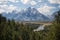 Snake River and the Grand Tetons (kellyludwig) Tags: mountains roadtrip grandtetons ef2470mmf28lusm