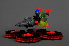 Neon Bolt (soccersnyderi) Tags: lego power miners speeder bike creation