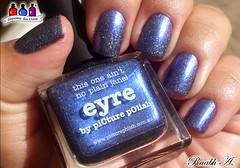 Eyre - Picture Polish (Raabh Aquino) Tags: unhas azul blue indigo holográfico