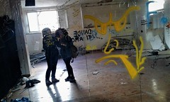 Hall of mirrors (Fede 221B) Tags: wild way weird real art friends friend strange nature mytown fun sun stay staywild pic life follow color colour cool love lovely photography photo pretty alone colorful foto fotografia flowers green lonely mypic byme telephone streetart dark darkness graffiti tag grey room afternoon old mirrors streetpeople artistic telefono yellow casa abbandonata abandoned tumblr me myfriend urban