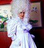 Bride (jensatin4242) Tags: sissy crossdresser transvestite jensatin frilly sissybride satingown whitesatin bridalgown bighair