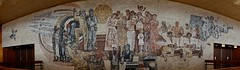 panoramic view (Wylf) Tags: soviet urss mozaika mosaic urbex cold war youri gagarine ussr hero urbexu history old