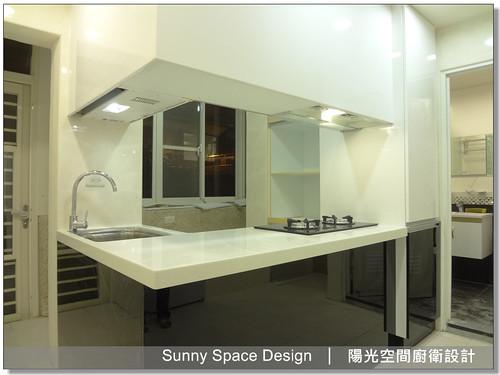 廚具大王-作品編號186-八德路四段楊先生ㄇ字型廚具-陽光空間精品廚具
