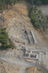 Jarash: Birketein (APAAME) Tags: baths flight2 flying2006 reservoir roman theatre city digitalcamera aerialarchaeology aerialphotography middleeast airphoto archaeology ancienthistory