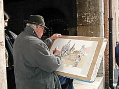 Verona 17 (mfnure31) Tags: italy artist drawing verona scaligertombs churchofsantamariaantica