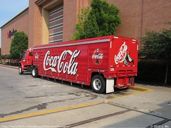 Coca Cola Truck (TheTransitCamera) Tags: red truck cola beverage delivery cocacola