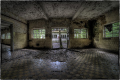 Not Ta Som in Cambodia (Angkor) but PRB in Belgium... (Yamabxl) Tags: abandoned belgium belgique decay creepy forgotten urbanexploration derelict hdr highdynamicrange usine verlassen urbex verfall lostplaces urbexhdr samyang8mm