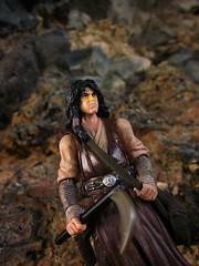 Without Warning, The Wizard Walks By (Geek Creek) Tags: toys starwars actionfigures hasbro toyphotography quinlanvos