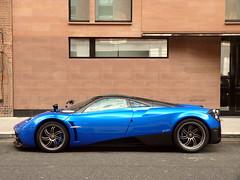 Huayra (BenGPhotos) Tags: new blue london car italian profile fast exotic rare supercar spotting v12 pagani 2013 huayra hypercar