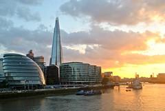 uk sunset england london riverthames theshard (Photo: Loco Steve on Flickr)